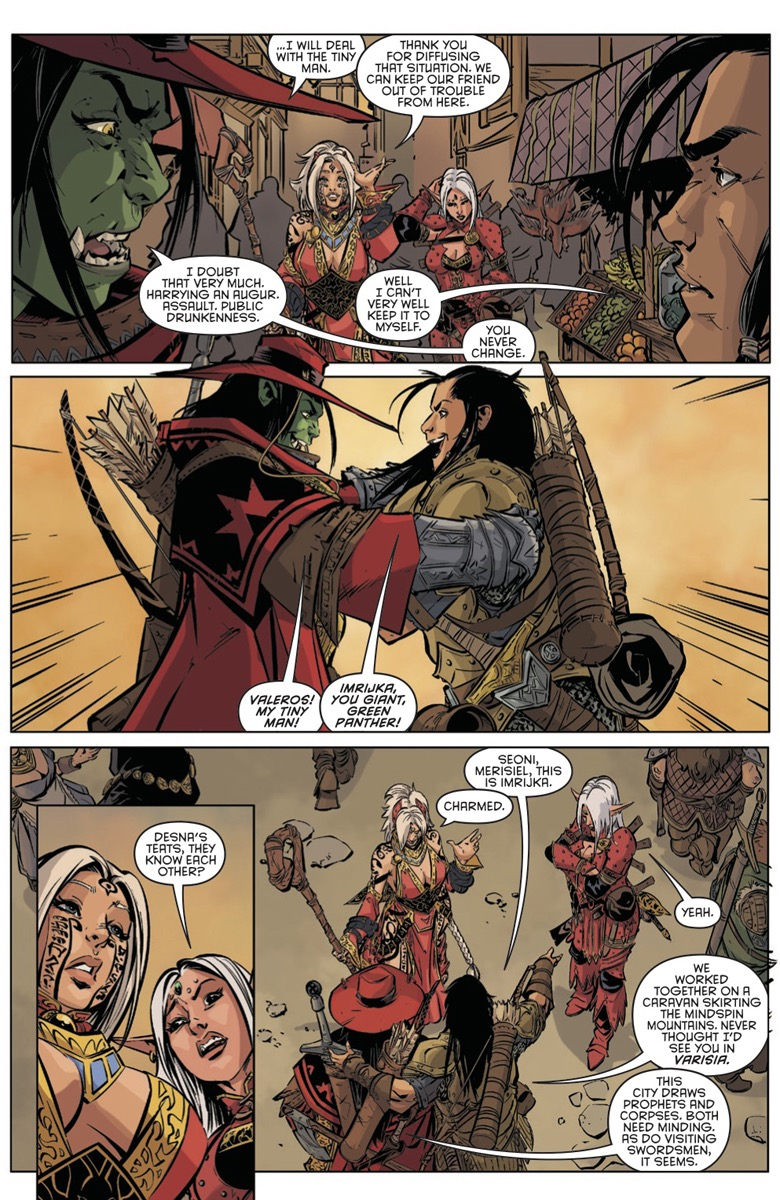 Pathfinder Spiral Of Bones 1 Hits Comic Store Shelves Tomorrow And Is Part Your Ongoing Subscription Here On Paizo