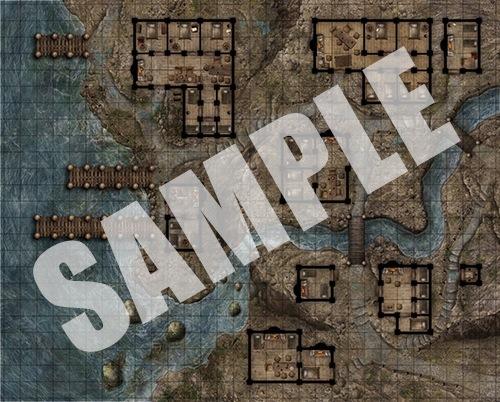 Pathfinder Flip Mat: Red Light District ...