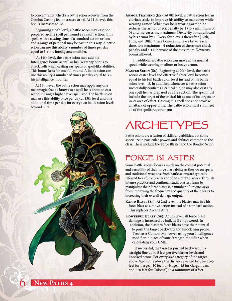 Paizocom New Paths 4 The Expanded Battle Scion Pfrpg Pdf