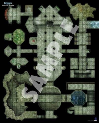 Paizo Com Pathfinder Flip Mat Thornkeep Dungeons 2 Pack