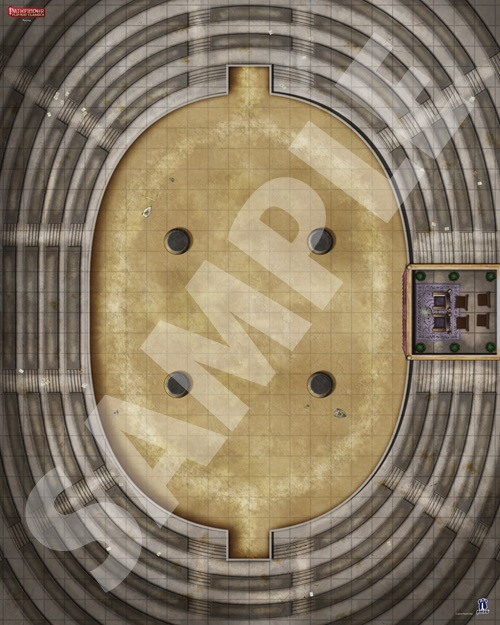 Paizo Com Pathfinder Flip Mat Classics Arena