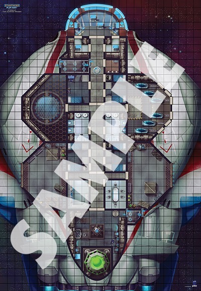Paizo Com Starfinder Flip Mat Starship The Sunrise Maiden