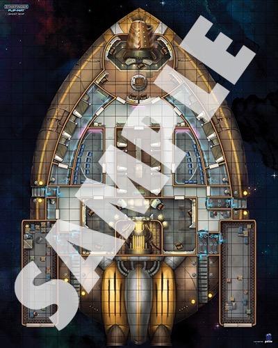 Paizo Com Starfinder Flip Mat Ghost Ship