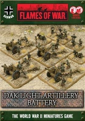 paizo.com - Flames of War—German: 10.5cm Artillery Battery (DAK)