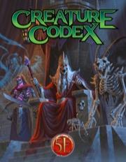 Creature Codex Hardcover 5e -  Kobold Press