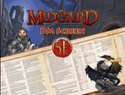 Midgard GM Screen for 5th Edition -  Kobold Press