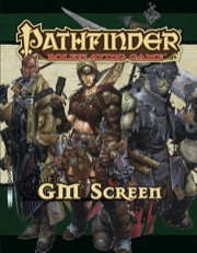 Pathfinder Roleplaying Game GM Screen (OGL)