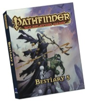 Pathfinder Roleplaying Game: Bestiary 5 Pocket Edition - Paizo Publishing