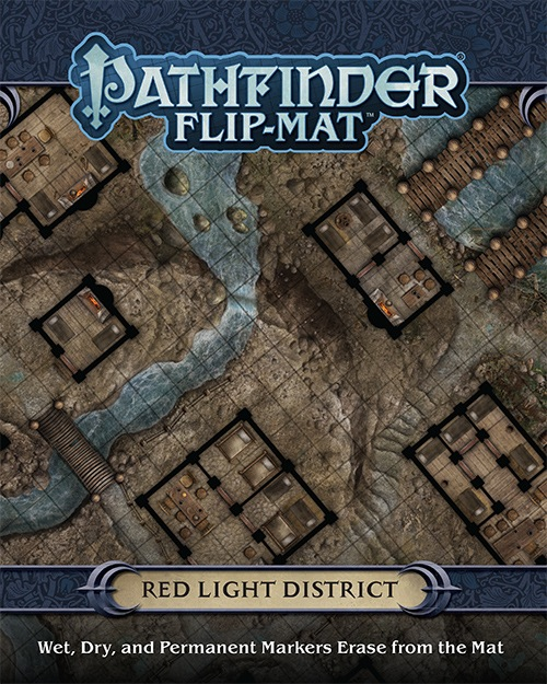 Paizo Com Pathfinder Flip Mat Red Light District