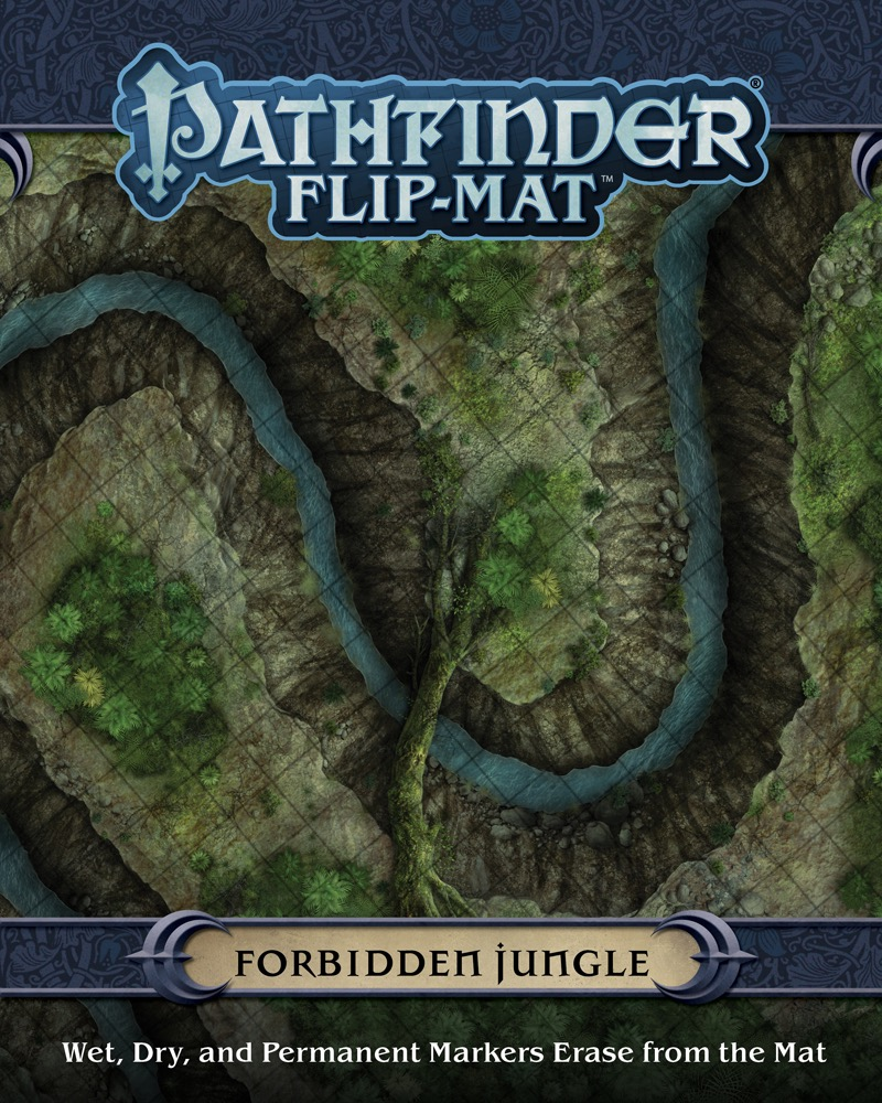 Paizo Com Pathfinder Flip Mat Forbidden Jungle