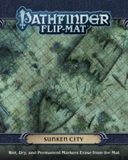 Sunken City: Pathfinder Flip-Mat (T.O.S.) -  Paizo Publishing
