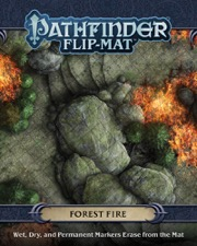 Forest Fire: Pathfinder Flip-Mat -  Paizo Publishing