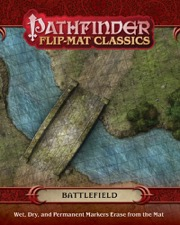 Pathfinder Flip-Mat Classics: Battlefield -  Paizo Publishing