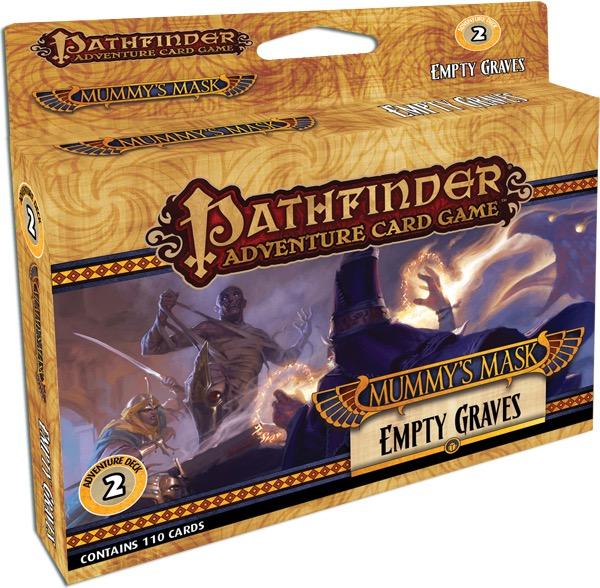 pathfinder adventure card game empty graves adventure
