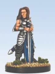 Pathfinder Chronicles Miniatures: Galtan Freedom Fighter