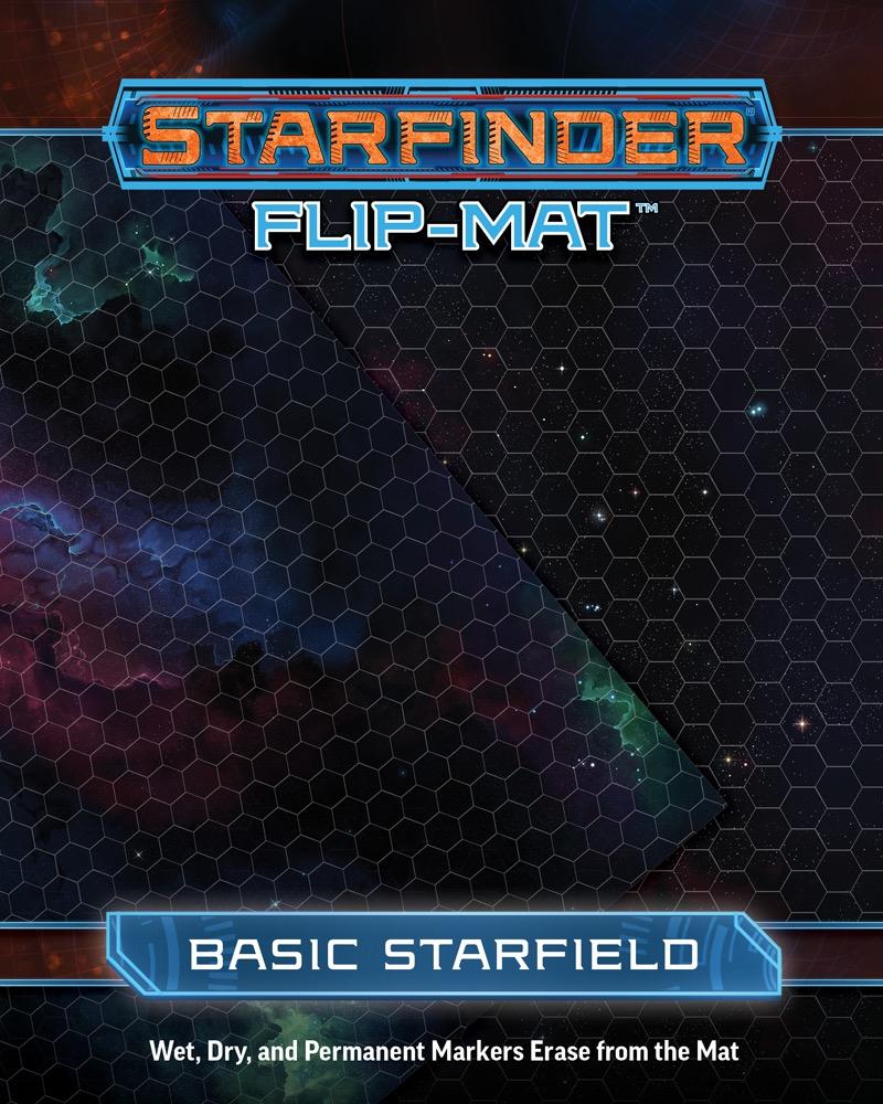 Paizo Com Starfinder Flip Mat Basic Starfield
