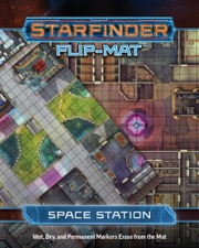 Space Station: Starfinder Flip-Mat -  Paizo Publishing