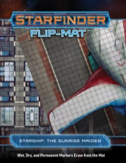 Starfinder Flip-Mat: Starship, The Sunrise Maiden