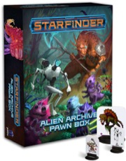 Alien Archive Pawn Box: Starfinder Pawns (T.O.S.) -  Paizo Publishing