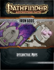 Pathfinder Adventure Path: Iron Gods Interactive Maps PDF
