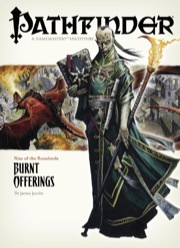 Pathfinder Adventure Path #1: Burnt Offerings (Rise of the Runelords 1 of 6) (OGL)