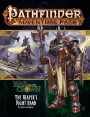 The Reapers Right Hand: War for the Crown 5 of 6 Pathfinder Adventure Path 131 -  Paizo Publishing