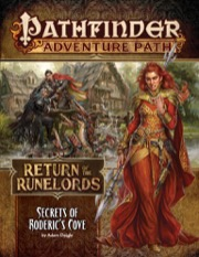 Pathfinder Adventure Path 133: Secrets of Rodericks Cove: Return of the Runelords 1 of 6 -  Paizo Publishing