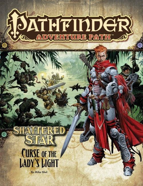 Pathfinder Adventure Path #62: Curse Of The Ladyu0027s Light (Shattered Star 2  Of