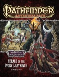 Pathfinder Adventure Path #77: Herald of the Ivory Labyrinth (Wrath of the Righteous 5 of 6) (PFRPG)