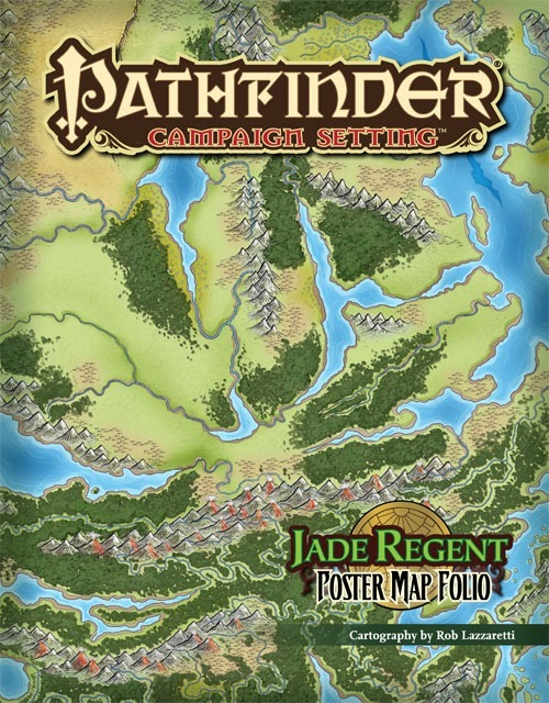 Good Pathfinder Campaign Setting: Jade Regent Poster Map Folio