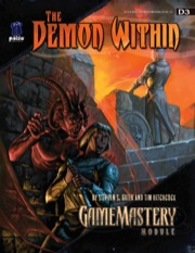 GameMastery Module D3: The Demon Within (OGL)