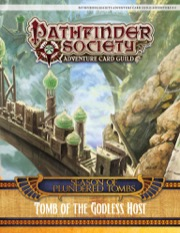 Pathfinder Society Adventure Card Guild Adventure #3-4: Tomb of the Godless Host