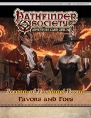 Pathfinder Society Adventure Card Guild #4-3: Favors and Foes PDF