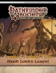 Pathfinder Society Adventure Card Guild #4-6: Blood Lord's Lament PDF