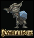 Pathfinder Goblin with d20 T-Shirt
