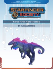 Starfinder Society Roleplaying Guild Scenario #1-15: Save the Renkrodas