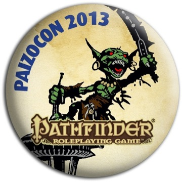 PaizoCon 2013 Pin