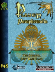 Player Paraphernalia #48—Base Class: The Shuhenja (PFRPG) PDF