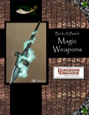 Buck-A-Batch: Magic Weapons (4E) PDF