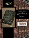 Buck-A-Batch: Wondrous Items (4E) PDF