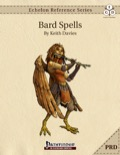 Echelon Reference Series: Bard Spells (PRD-Only) PDF