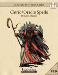 Echelon Reference Series: Cleric Spells (PRD-Only) PDF