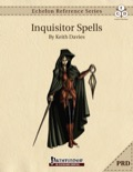 Echelon Reference Series: Inquisitor Spells (PRD-Only) PDF