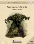 Echelon Reference Series: Summoner Spells (PRD-Only) PDF