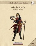 Echelon Reference Series: Witch Spells (PRD-Only) PDF