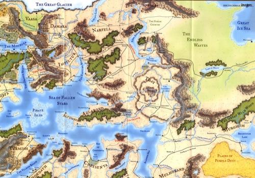 Forgotten Realms Map Pdf – Fondos de Pantalla
