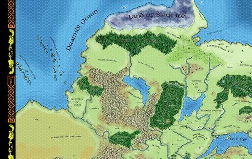 greyhawk poster map upper left quadrant