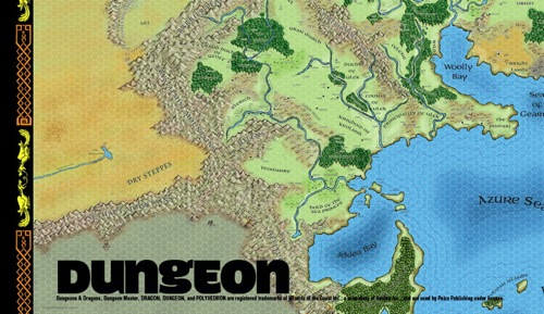 paizo.com - Greyhawk Poster Map: Lower Left Quadrant