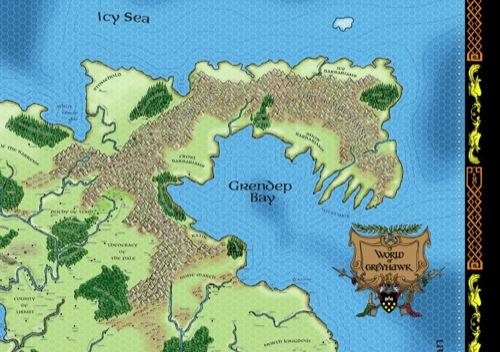 greyhawk poster map upper right quadrant