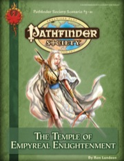 Pathfinder Society Scenario #3-21: The Temple of Empyreal Enlightenment (PFRPG) PDF